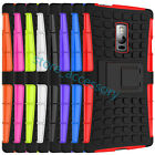 8 Colour For Microsoft Nokia Lumia HeavyDuty 2in1 Hybrid Rugged Kickstand Case