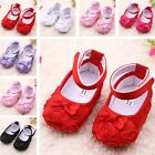 Lovely New Kids Baby Girls Toddler Infant Princess Soft Sole Crib Shoes Hot