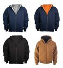 Craftsman Premium Men's Full-Zip Thermal Active Jac, Hooded Jacket, Size S-5XL