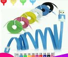 1M Flat Noodle USB Charger Sync Data Cable For Android Phones US17-24