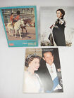 Lot 3 Souvenir Booklets Royal Family Best of Britain & Britans iKings & Queens