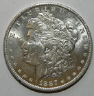 Uncirculated 1887-P Philadelphia Mint Morgan Silver Dollar Free Shipping