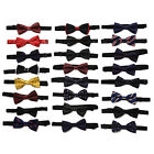 "1 Pcs Bowties Groom Men Cravat Marriage Butterfly Wedding Bow ties 4.7""*2.36"""