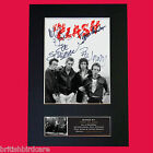 THE CLASH Quality Autograph Mounted Photo Reproduction A4 Print
