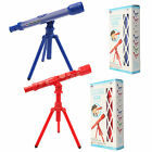 Kids Astrological Telescope With Tripod Science Educational Toy Gift Red/Blue UK