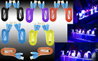 Premium Smiley LED HeavyDuty Data Sync Charging Flat Cable Cord For New Phones(B