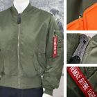 New Alpha Industries MA-1 MA1 MA 1 Jacket SAGE GREEN