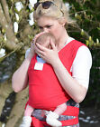 Liberty Sling Baby Sling WRAP CARRIER RED 4 SIZES