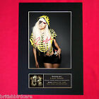 LADY GAGA Signed Autograph Mounted Photo REPRODUCTION PRINT A4 236