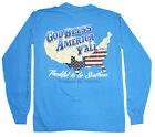 Southern By Nature Bless Y'all Longsleeve Pocket T-Shirt