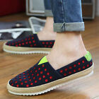 Fashion leisure sports shoes breathable slippers driving canvas men's shoes