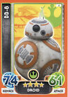 Star Wars Force Attax Extra The Force Awakens Pick From List 1 To 51