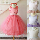 Adorable Blush Coral Mint green Chammapgen Lilac pageant flower girl party dress