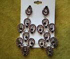 Earrings Renaissance Collection chandelier style in 5 colors model # 052 new bag