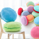 Pure Color Macaron Shape Cushion Pillow Plush Toy Birthday Girl Gift NEW Arrival