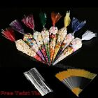 Party Bags Clear cone Coloured bags cello cellophane sweet candy display kids #Y