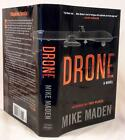 DRONE, Mike Maden, SIGNED (title page), 1st/1st, New, Troy Pearce #1