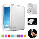 Clear Soft Silicone Shockproof Back Case Cover For Apple iPad 2/3/4 Mini Air Pro