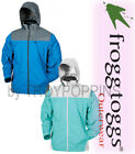 FROGG TOGGS RAIN GEAR-RT62540-319 SEAFOAM/WHITE RIVER TOADZ JACKET WOMENS GOLF