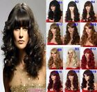 "20"" Natural Wig Soft Curls Full Head Wigs Party Hair Women Wig Heat Resistant"