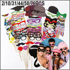 DIY Mask Photo Booth Props Mustache On A Stick Wedding Birthday Party Christmas