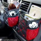 Auto Car Air Pocket Holder Storage Hanging Bag For Cup Pen Key Phone Orangizer