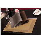 PVC Insulation Bowl Tableware Placemats Place Mat Table Coasters Dining