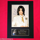 MICHAEL JACKSON Memorial Mounted Signed Photo Reproduction Autograph Print A4 68