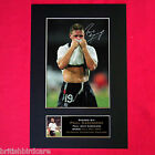 PAUL GASCOIGNE GAZZA Autograph Mounted Signed Photo RE-PRINT A4 313