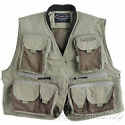 Vision Caribou Fly Fishing Vest in Light Green
