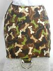 DOG/CAT/FERRET Custom Travel Harness~Bad to the Bone Green Camouflage Puppy