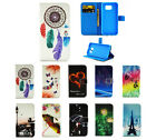 Magnet Coloured Leather Flip Stand Case Cover Shell For Samsung Galaxy S6Edge