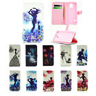 New Diamonds PU Leather Flip Stand Case Cover Shell for Samsung Galaxy S5 Mini