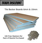 Tile Backer Board 6mm & 10mm Insulation Boards (50wsh)