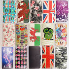 FLIP WALLET LEATHER CASE COVER FOR APPLE iPHONE 4 4S 5 5S 5C 6 -