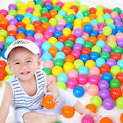 55mm 70mm Colorful Soft Plastic Ocean Ball Safty Secure Baby Kid Pit Toys Swim