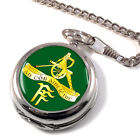 Irish Defence Forces Artillery Corps Pocket Watch (Optional Engraving)