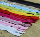 2PC new DIY Cloth art quilting 20cm Nylon Zips Sewing Crafts Close 6 color COOL