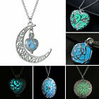 Magic Luminous Steampunk Fairy Locket Glow In The Dark Pendant Glowing Necklace