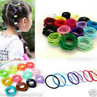 100pcs Elastic Rope Hairband Women Hair Ties Fashion Ponytail Holder Hair Acces