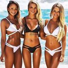 New Frauen Bikini Set Push up Sexy Verband gepolsterter BH Triangle Badeanzug