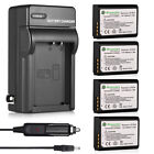 LP-E10 Battery + Charger For Canon Rebel T3 T5 T6 Kiss X50 E