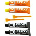 EPOXY RESING GLUE ADHESIVE CLEAR STRONG PLASTIC CERAMIC GLASS RUBBER GLUE