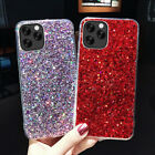 Bling Glitter Ultra Thin Soft Gel TPU Case Cover For Samsung Galaxy S7 Iphone 7