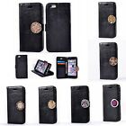 Hot Luxury Leather Coin Moneda Card Slots+Photo Frame Case Cover For Multi Phone