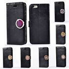 For Smart Phones Coin Moneda Decoration Flip Synthetic Leather Stand Case Cover