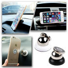 Universal 360° Magnetic Mobile Cell Phone Car Dash Holder Stand Mount For iPhone
