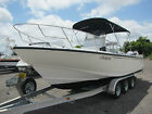 1995 Boston Whaler 240 Outrage Center Console Twin Yamaha Outboards No Reserve