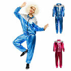 Mens Ladies Shell Suit 80s Scouser Costume Tracksuit Fancy Dress Stag Hen Do