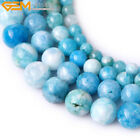 Natural Stone Genuine Hemimorphite Gemstone Beads For Jewelry Making Strand 15""
